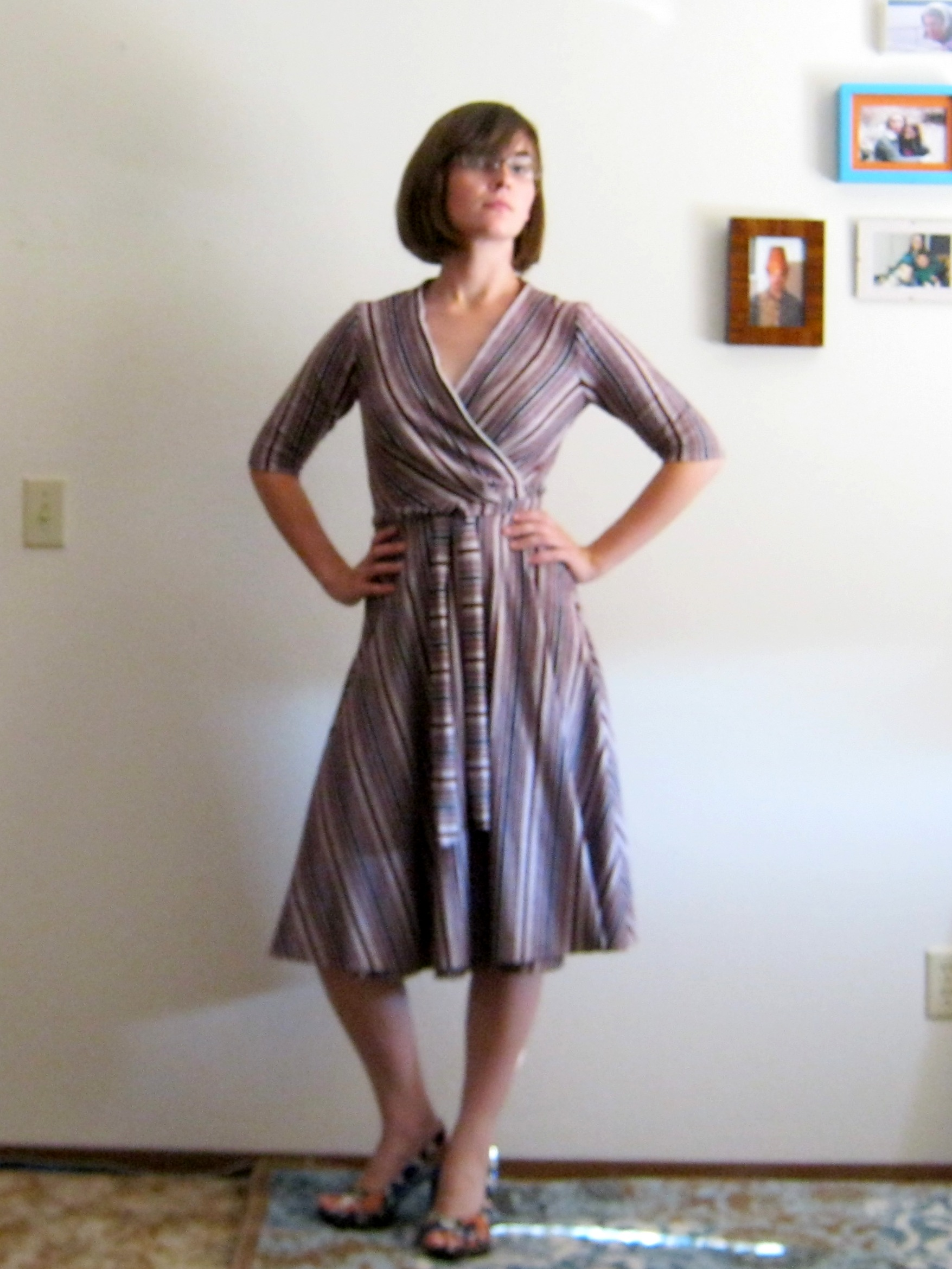 Before the Blog: It\'s a Wrap Dress! | Toferet\'s Empty Bobbin