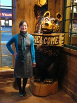 I actually got Mr. Fiance to take pictures when we went out to eat ... with varying success.