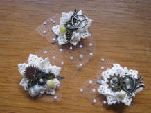 Bridesmaid hair accessories