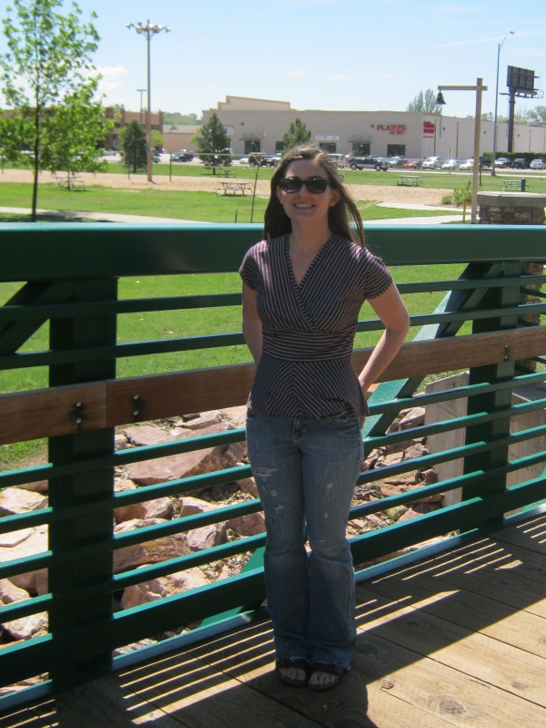 I even got Mr. Husband to take a couple pictures while we were at the park!
