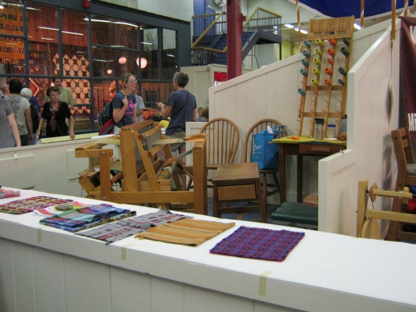 Weaving demonstration