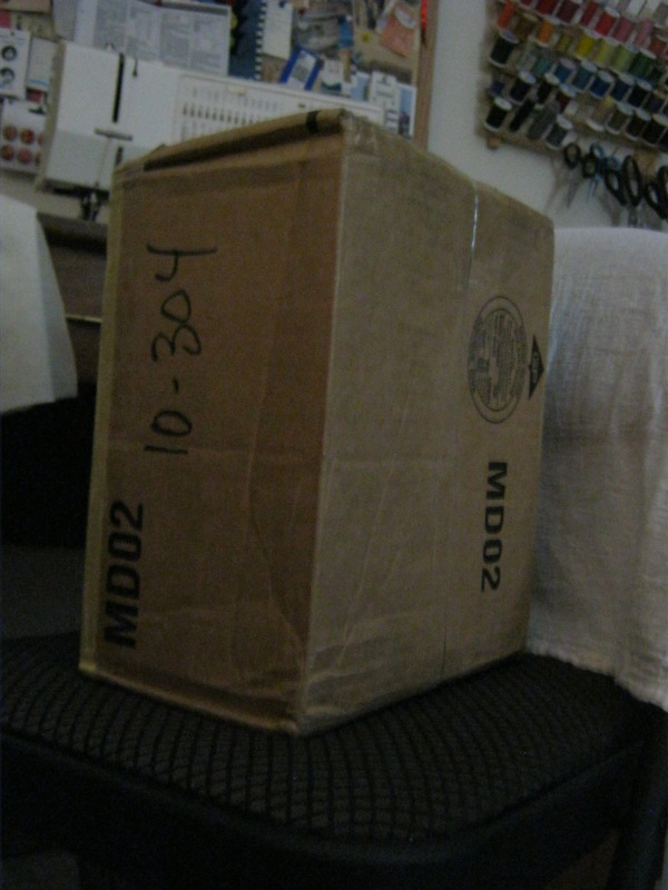 This box traveled from Minnesota to Ireland and back