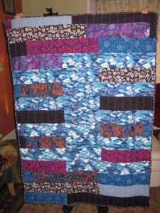 """Blue Tree Quilt"""