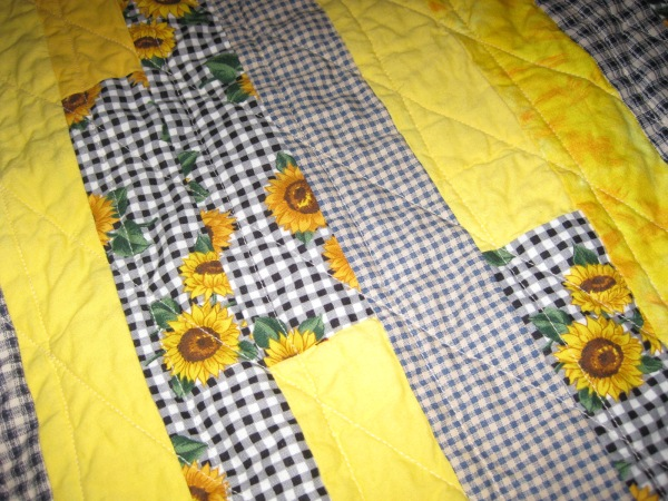 Oklahoma Sunflower Quilt